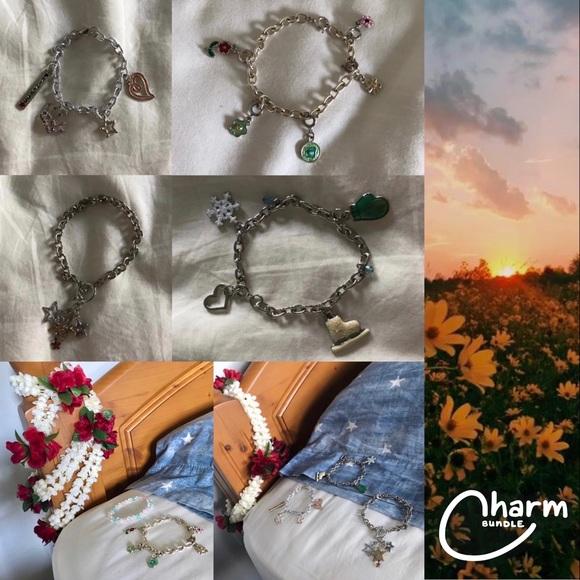 SOLD !! NEW charm bracelet bundle !!